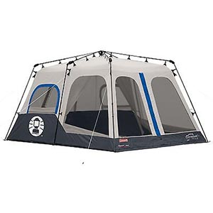 Coleman 2000018295 8-Person Instant Camping Tent Review