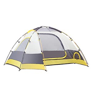 SEMOO Water Resistant D-Style Door, 2-Person Tent review